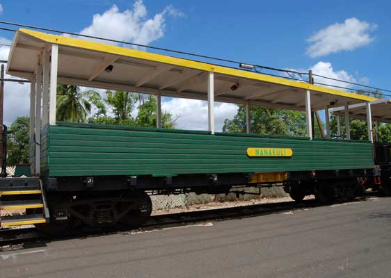 Images of Hawaiian Railway Society Train Passenger Cars
